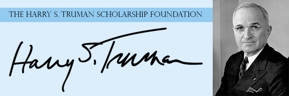 Truman Scholarship Foundation Banner